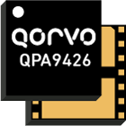 Qorvo QPA9426, small cell power amplifier serves 2500 to 2700MHz with 0.5W of linear power