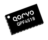 Qorvo QPF4518 5150 to 5925 MHz WiFi FEM with 32dB of transmit path gain and 16dB of receive path gain