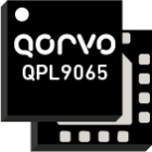 Qorvo QPL9065 Ultra Low Noise two Stage Bypass LNA with a 0.5dB noise figure and Operational bandwidth of 450 to 3800MHz