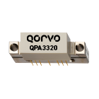 Qorvo QPA3320 low distortion, low noise CATV amplifier provides 34.5dB minimum gain at 1GHz