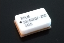 RFuW Engineering RFLM-202402QF-290 surface mount, silicon, PIN diode based, limiter module with CW power handling of 100W from 2 to 4GHz.