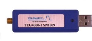 Telemakus TEG4000-1 USB controlled RF generator covers 35MHz to 4000MHz