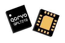 The Qorvo QPL7210 FEM integrates a 2.4 GHz LNA, an LNA bypass and high selectivity receive BAW fil ter for wireless coexistence