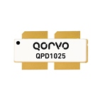 Qorvo's QPD1025 offers 1563 Watts P3dB power from 1000 to 1100MHz. 65V operation and 77.4 percent PAE