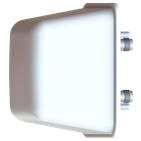 Southwest Antennas' 1055-345 and 1055-346 2x2 sector antennas for 4.4 to 5.0GHz and 2.2 to 2.3GHz MIMO / MANET radio systems offer 10dBi minimum gain