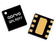 Qorvo QPL9097 Bypass LNA spans 3300 to 4200MHz for 5G massive MIMO base station receivers