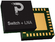 pSemi combines Switch and LNA for single and dual channel use in massive MIMO 5G