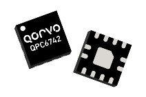 Qorvo's QPC6742 5 to 2000MHz, 75 ohm SP4T offers 34dB isolation and 0.35dB insertion loss