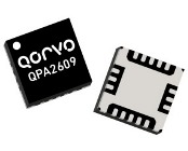 The Qorvo QPA2609 LNA provides 26dB of gain with a noise figure of 1.1dB from 7 to 14GHz