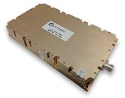 Aethercomm SSPA 0.2-2.5-200 provides 200 Watts Psat from 200 to 2500MHz