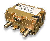 Aethercomm SSHPS 2.5-6.0-150 high power switch handles up to 150 Watts of CW RF power from 2500 to 6000MHz