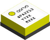 Qorvo's QPA2213, GaN on SiC wideband, driver amplifier provides >2 Watts Psat from 2 to 20 GHz.