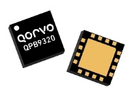 Qorvo's QPB9320 integrates a two-stage LNA and a high power switch providing 52 W power handling from 1850 to 2025 MHz