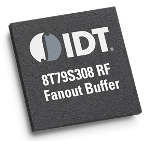 The IDT 8T79S308 Precision 1:8 Universal Differential Fanout Buffer is designed for distribution and fanout of high-frequency clocks or low-frequency synchronization signals.