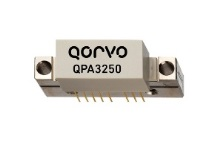 Qorvo's CATV power doubler model QPA3250 provides up to 76.8 dBmV composite power or 67 dBmV virtual level.