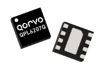 Qorvo QPL6207Q Low Noise Amplifier supports SDARS from 2320 to 2345 MHz with low noise figure of 0.45 dB and 35 dBm output IP3
