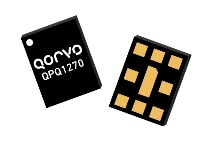 The Qorvo QPQ1270 BAW duplexer supports Band 7 uplink and downlink applications in LTE dongles, small cells, base station infrastructure and repeater designs