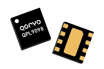 Qorvo's QPL9098 integrates a 19.6 dB gain LNA with bypass mode functionality for applications from 4 to 6 GHz.