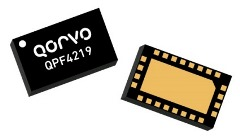 Qorvo's QPF4219 WiFi FEM Maximizes Receiver Sensitivity for 2400 to 2500 MHz 802.11ax