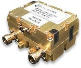Aethercomm's SSHPS 0.005-0.050-500 symmetrical SPDT switch handles up to 500 Watts CW and 1 kW RF power from 5 to 50 MHz