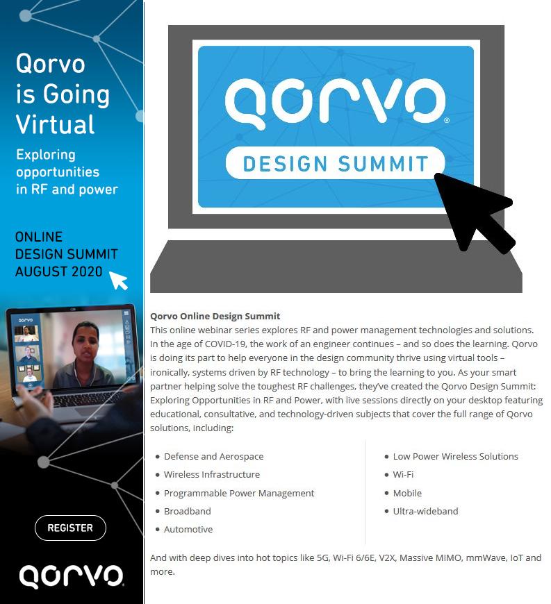 Qorvo Online Design Summit