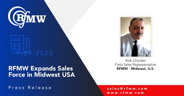 RFMW Announces Sales Force Expansion – Mid West USA