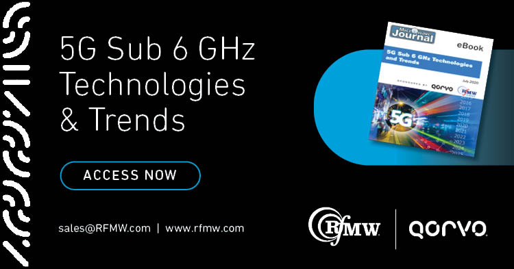 5G Sub 6 GHz Technologies and Trends eBook from Qorvo