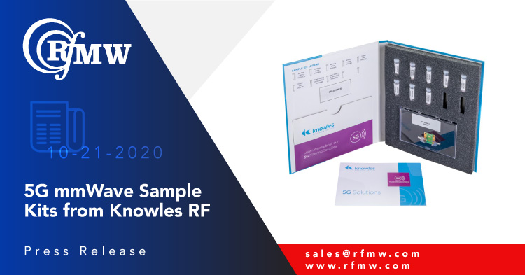 Developed for use in Next-Generation mmWave radio applications, these Knowles passive device kits include 5G filters, directional couplers, 2-way and 4-way power dividers