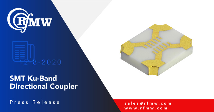 the Knowles FPC06075 spans 12 to 18 GHz and provides a 10 dB coupling factor for Ku-band applications.