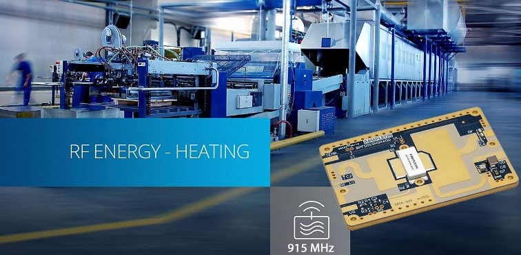Using RF Energy for industrial heating