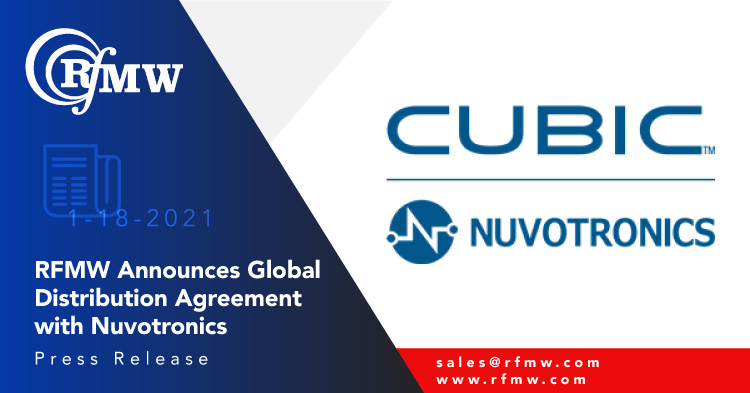RFMW Announces Distribution Agreement with Nuvotronics