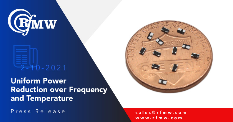 API Technologies Powerfilm, PCA3060 series of fixed attenuators operate to 30 GHz handling 1W of power.