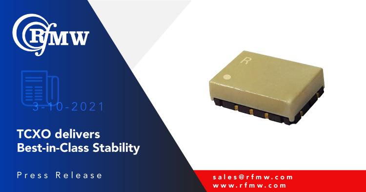 The Rakon Neptune Ultra Stable TCXO E8006LF offers noise floor of -158 dBc/Hz