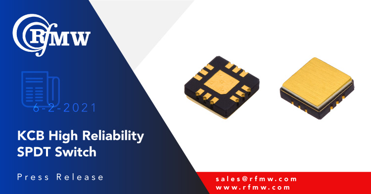 The KCB Solutions KS204C non-reflective RF switch is designed for harsh environments from 20 MHz to 8 GHz