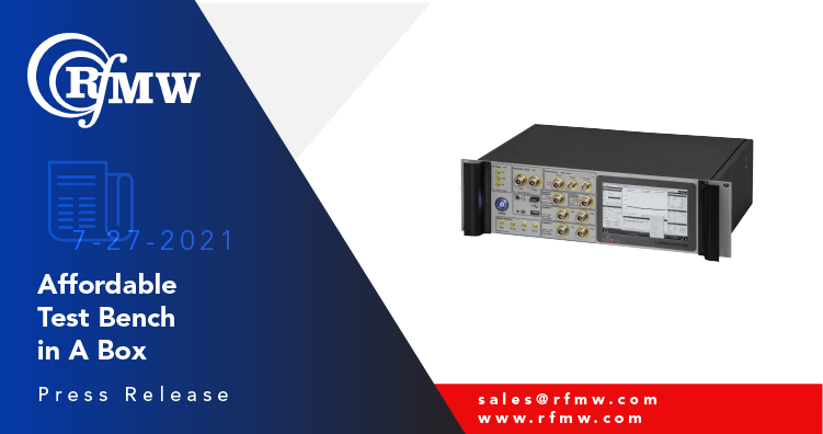 """The S-Series """"Test Bench in A Box"""" from Elite RF is a general-purpose, all-inclusive RF test bench in one enclosure."""