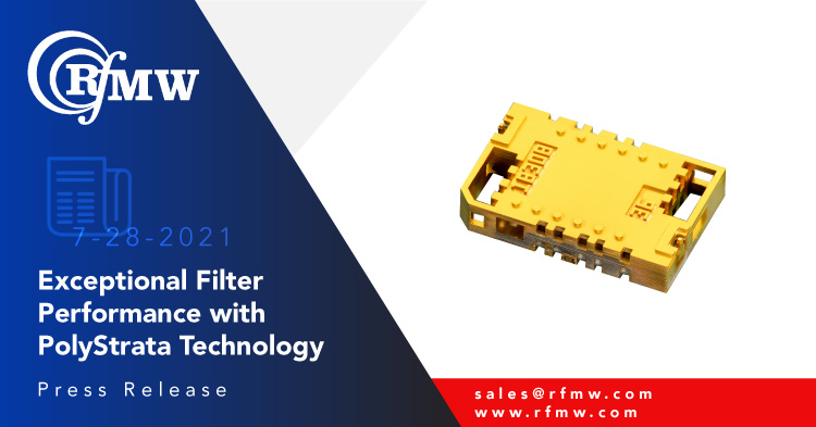 The Cubic Nuvotronics PSF19B02S interdigital filter has a pass band of 17.7 to 20.2 GHz