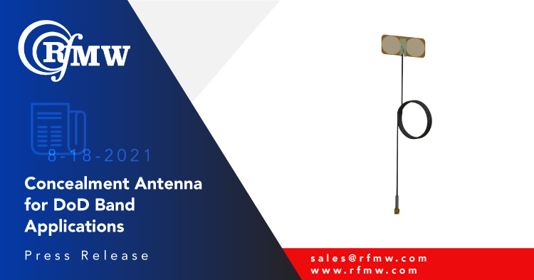 Southwest Antennas' 1066-094 omnidirectional concealment antenna is used in 1.35 to 1.4 GHz systems where covert antennas are necessary for mission security.