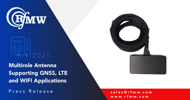 The Cirocomm Corporation GGWA-600 combines five individual elements to cover vehicle mounted deployment needs including Wi-Fi, LTE, 5G, GNSS and DSRC.